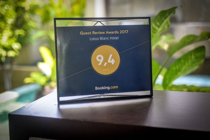 Lotus Blanc Hotel In Siem Reap Receives Booking.Com Award 2017