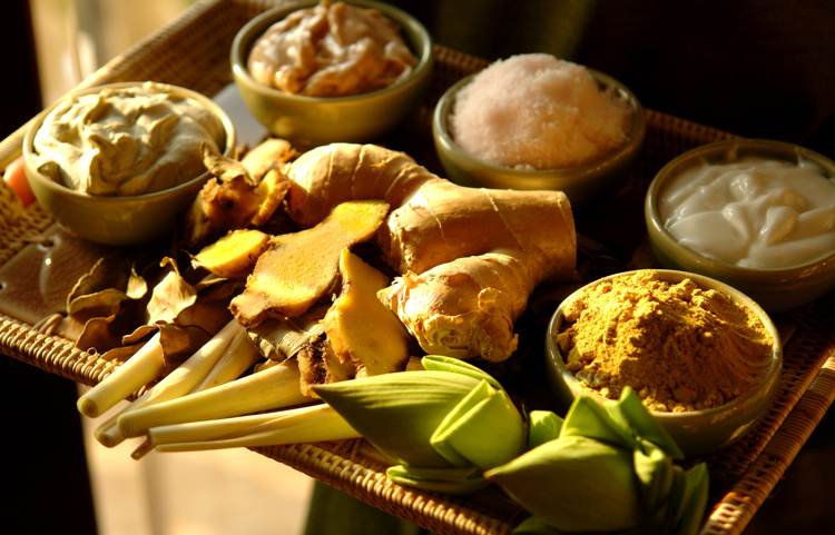 Traditional Herb Healing Ingredients