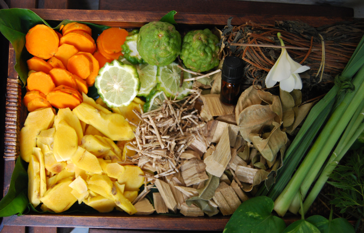 Traditional Herbal Body Wrap Ingredients