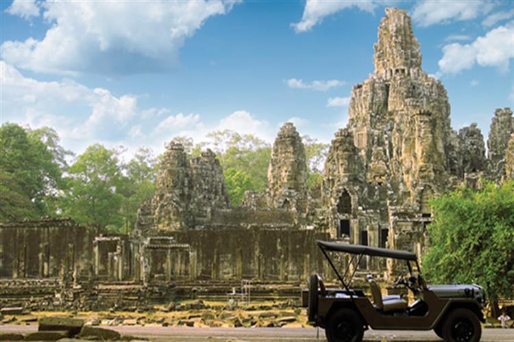 Transportation Bayon Temple